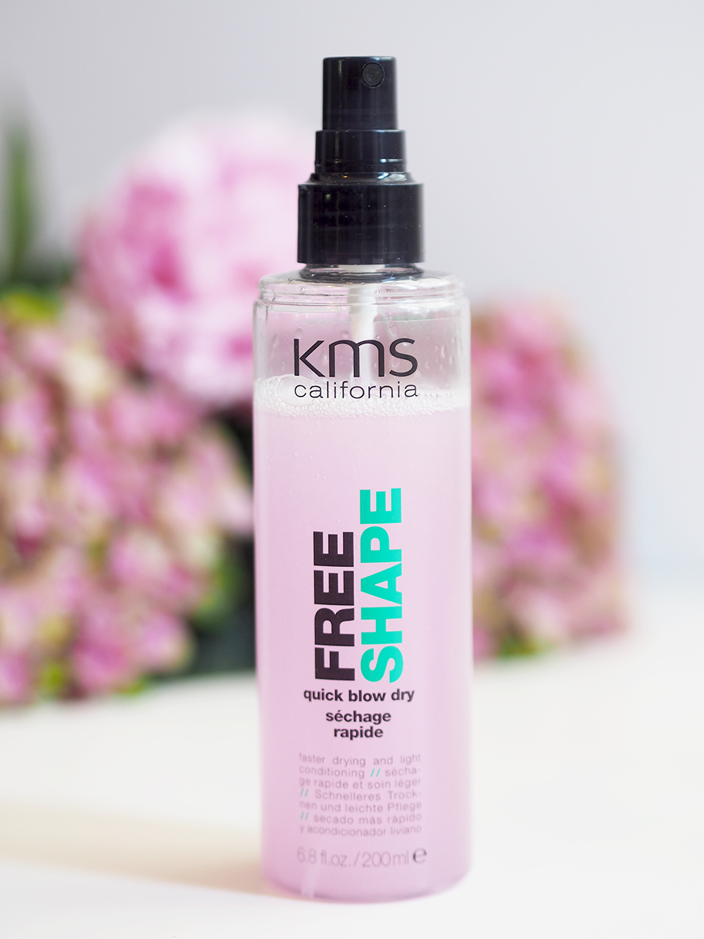 KMS quick blow dry spray