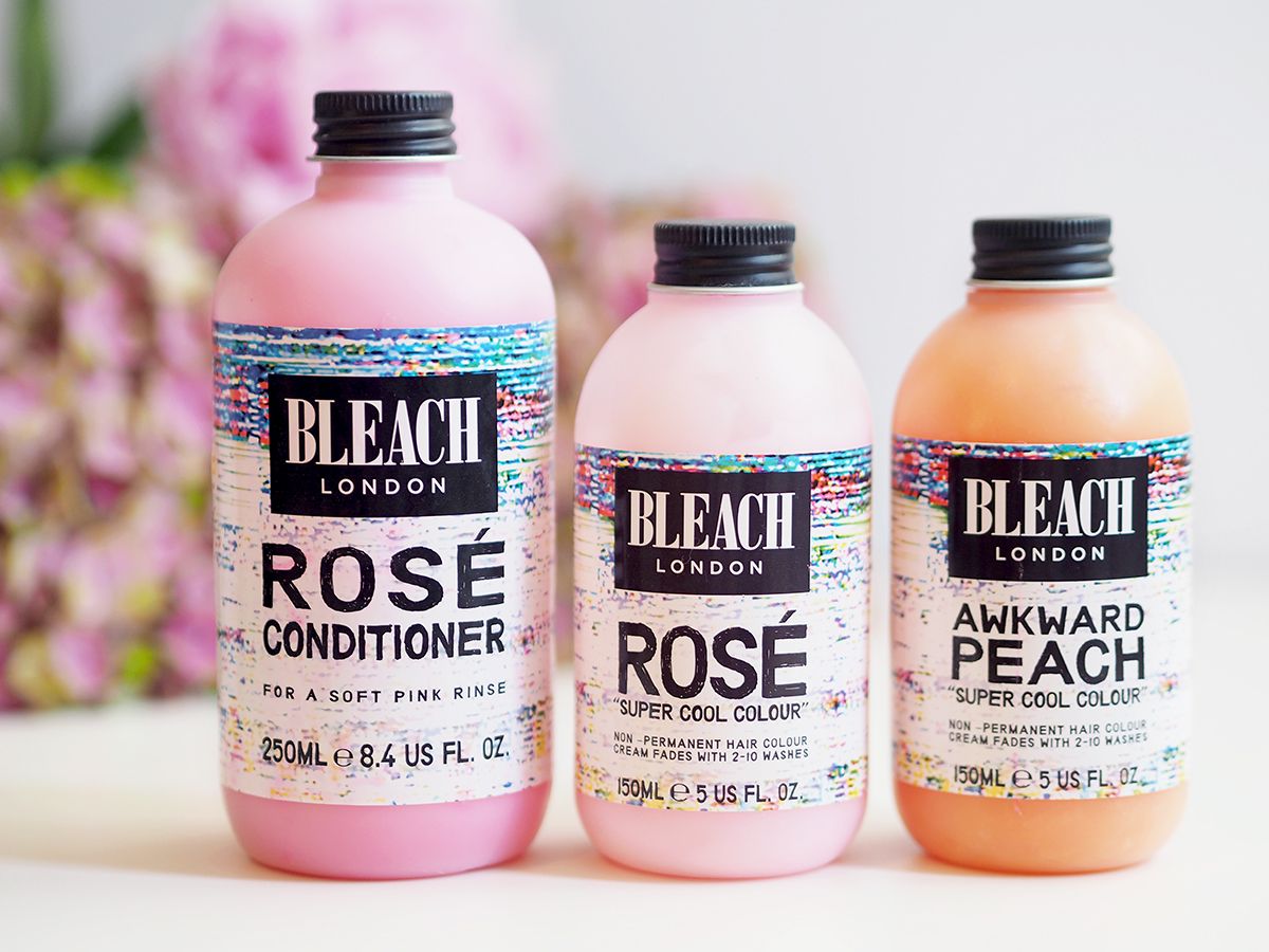 bleach london pastel shampoos