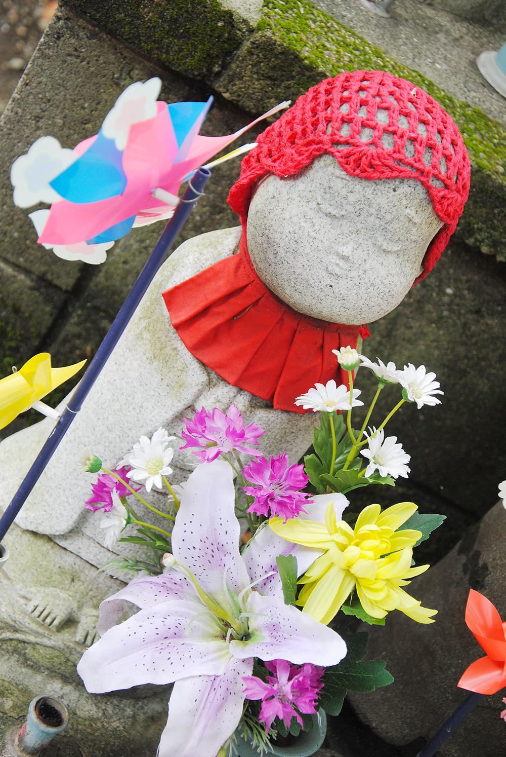 zojoji tokyo japan unborn children garden