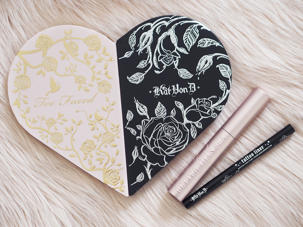 too faced kat von d better together review