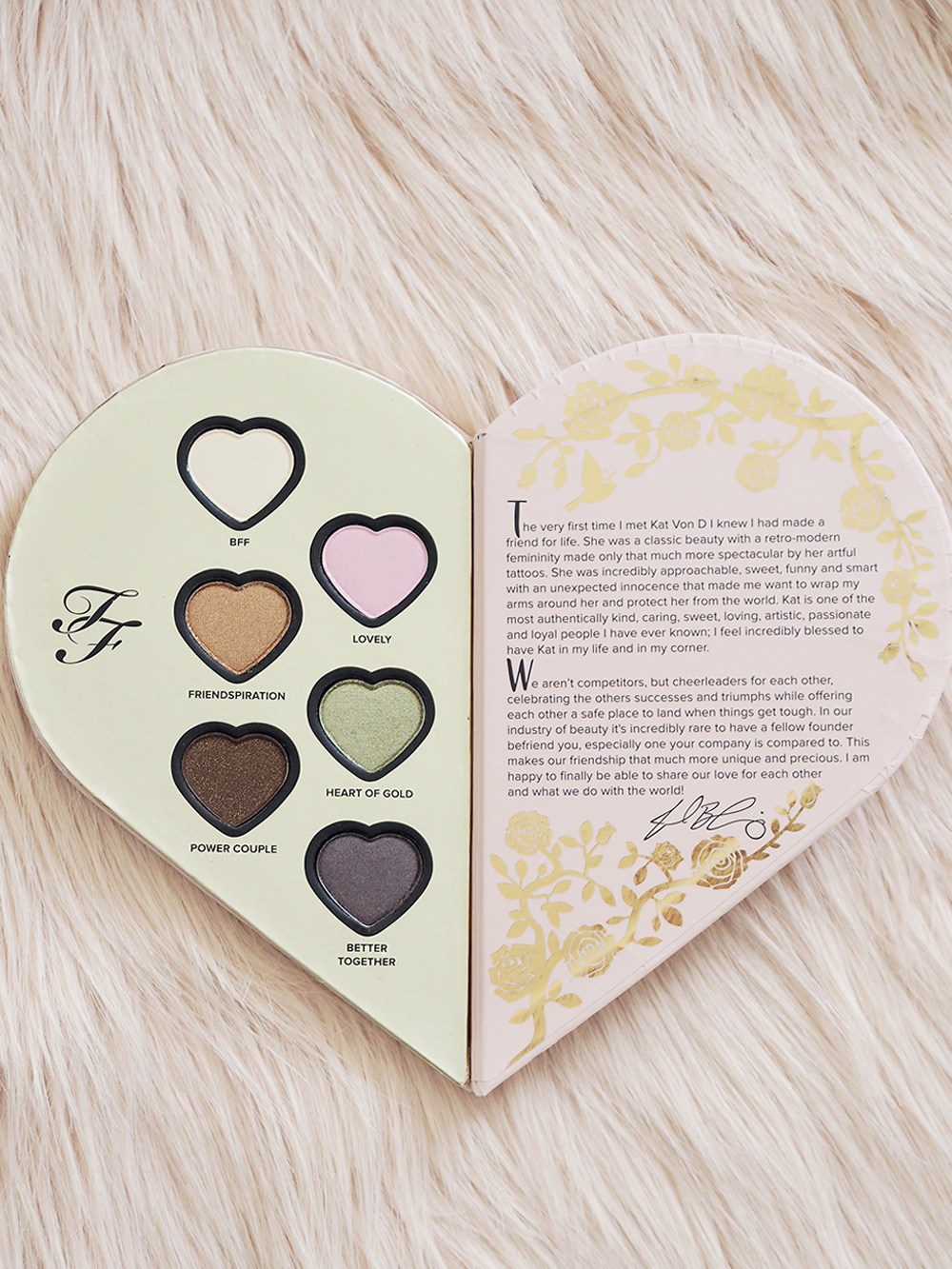Too Faced & Kat Von D Better Together Palette review