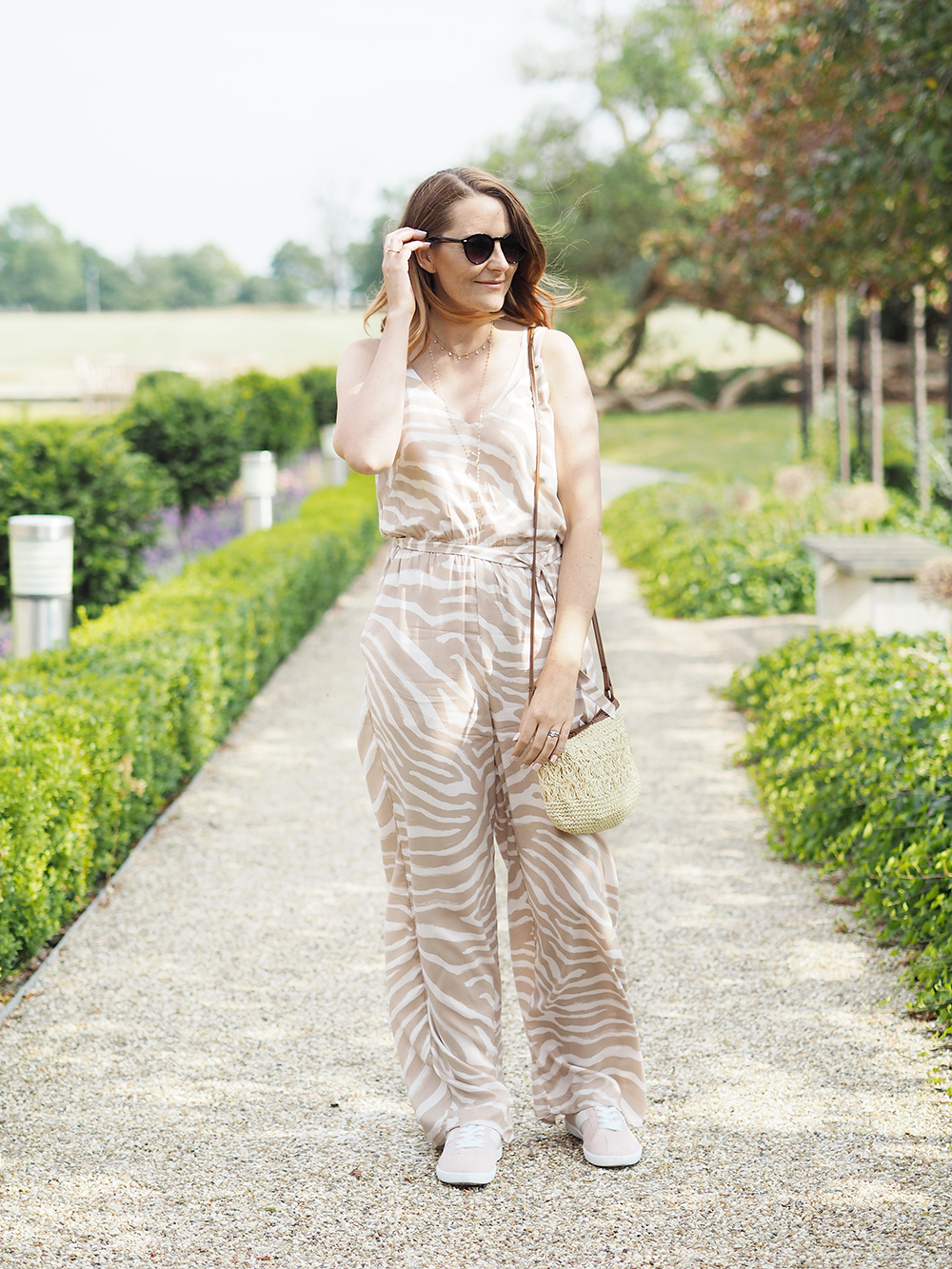 Summer jumpsuit outfit