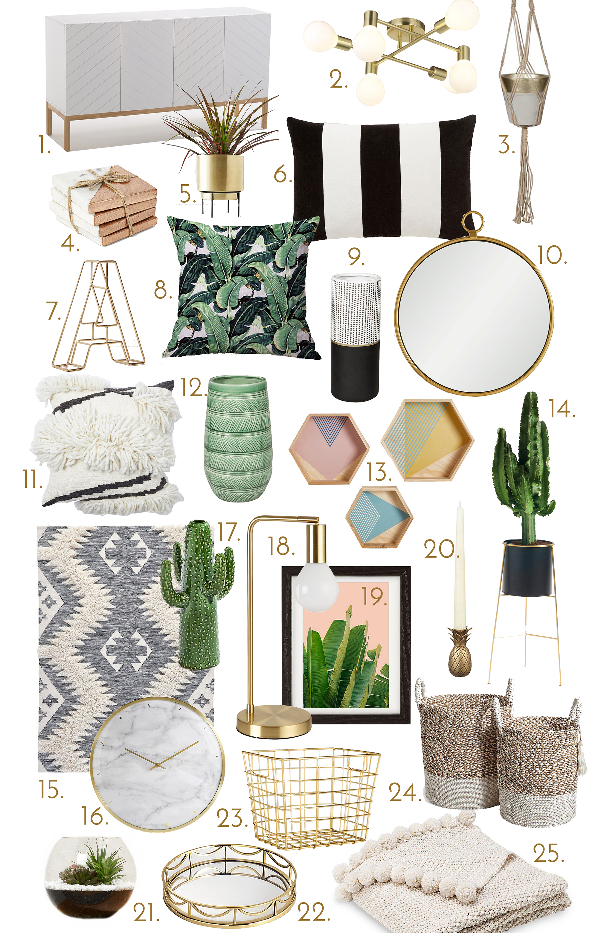 home accessories for a modern scandi look