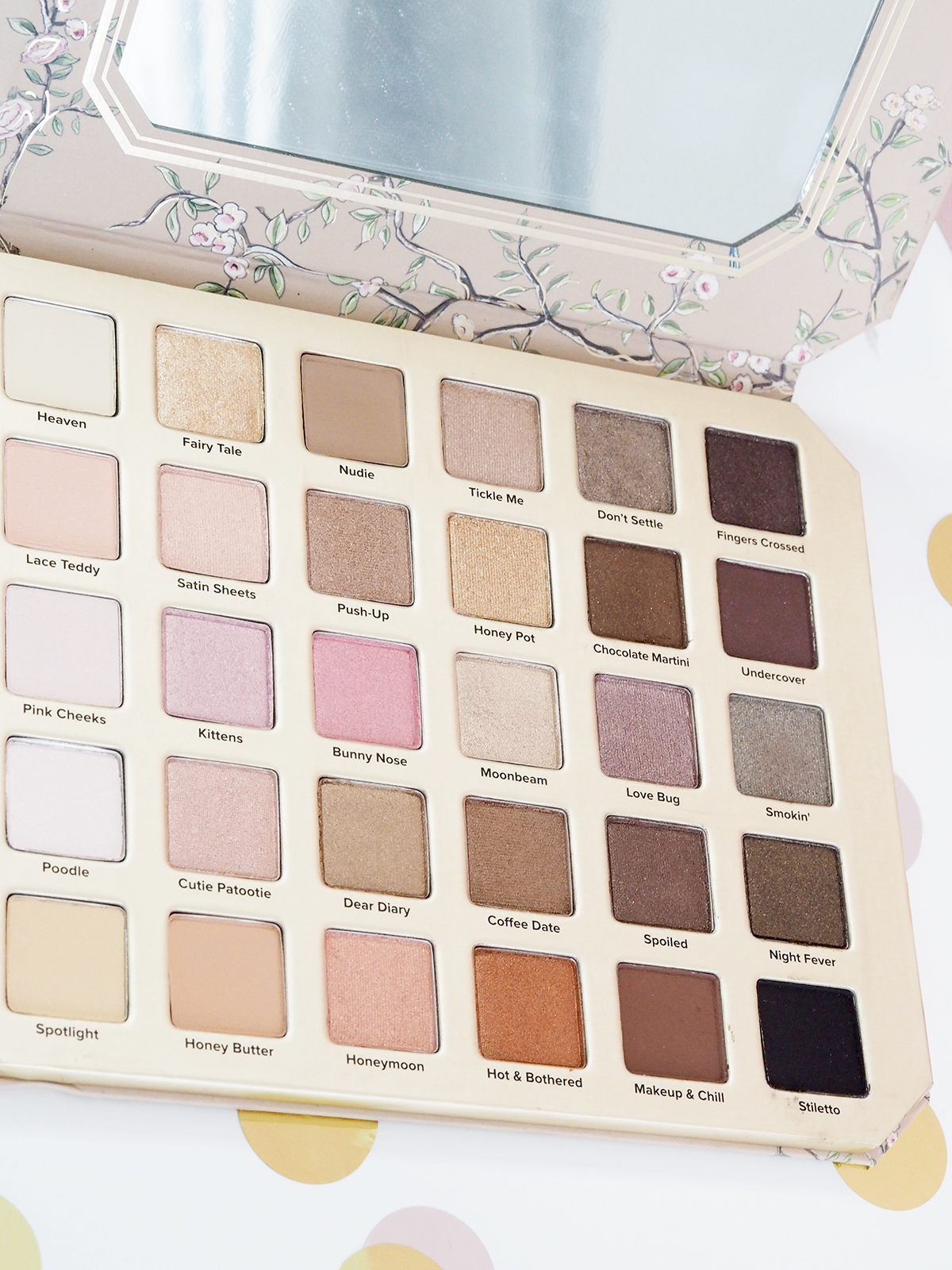 Two faced natural love palette