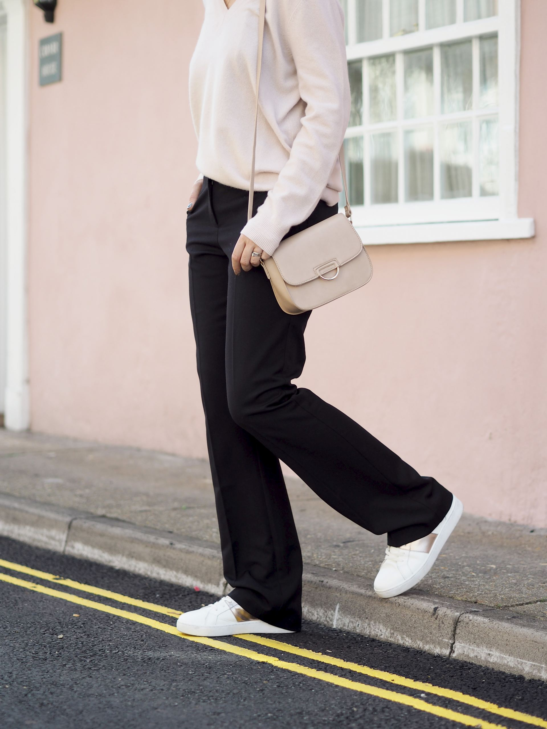 wear your work trousers at the weekend