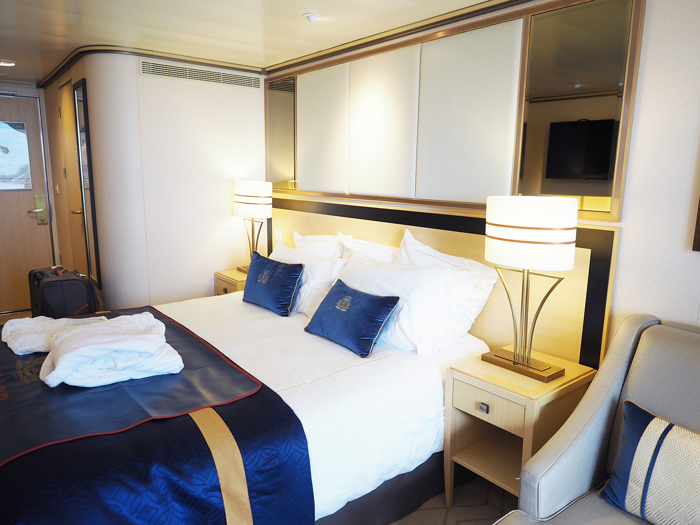 Cunard Queen Mary 2 balcony stateroom