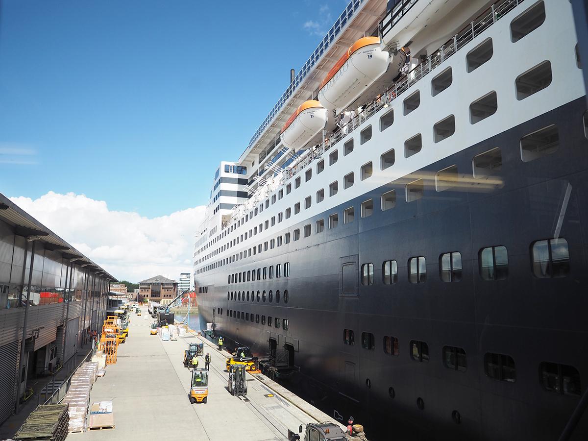 Cunard Queen Mary 2 southampton