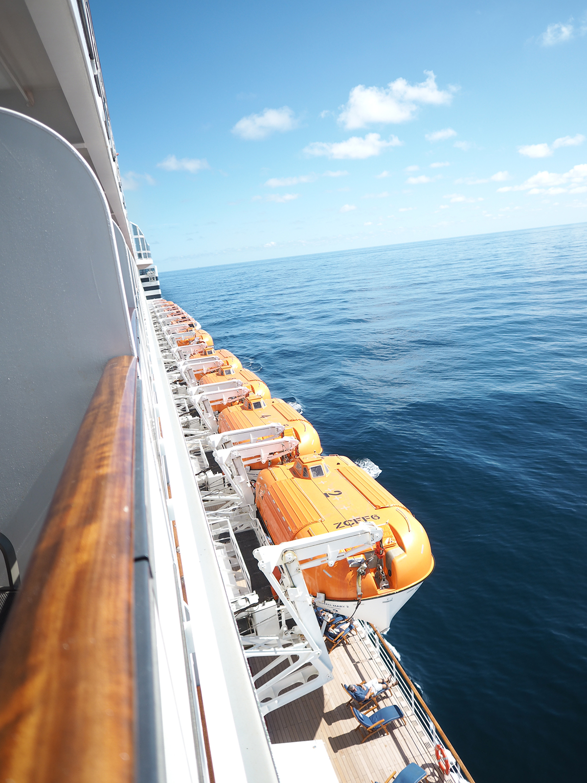Cunard Queen Mary 2 cabin view