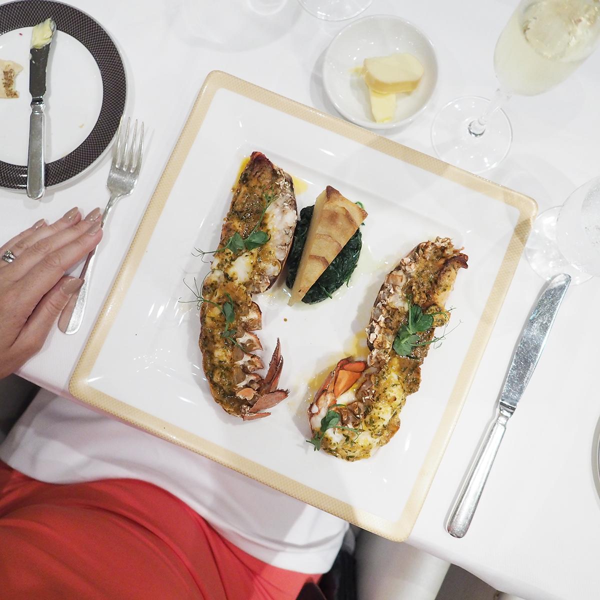 Cunard Queen Mary 2 Verandah restaurant