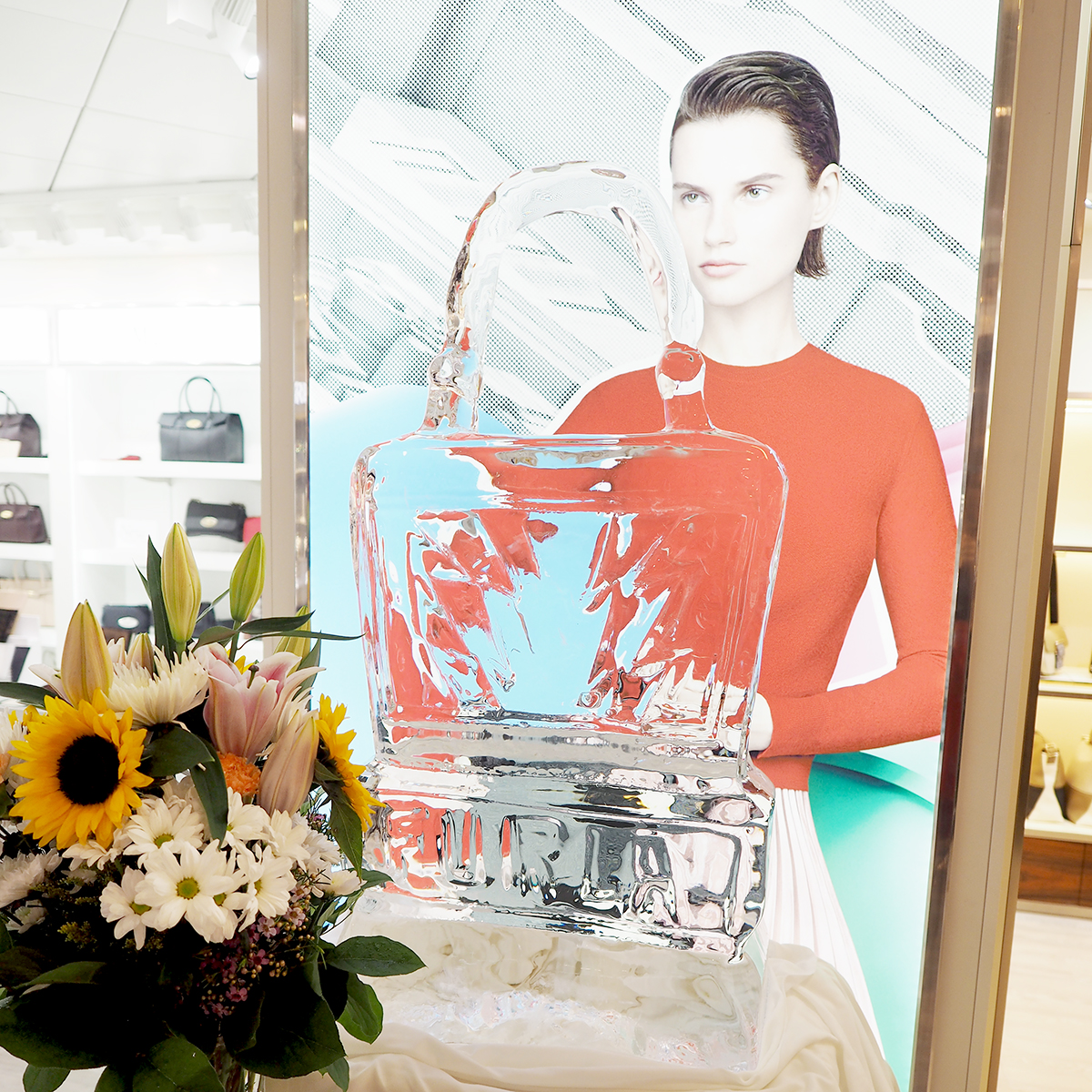 furla store opening Cunard Queen Mary 2
