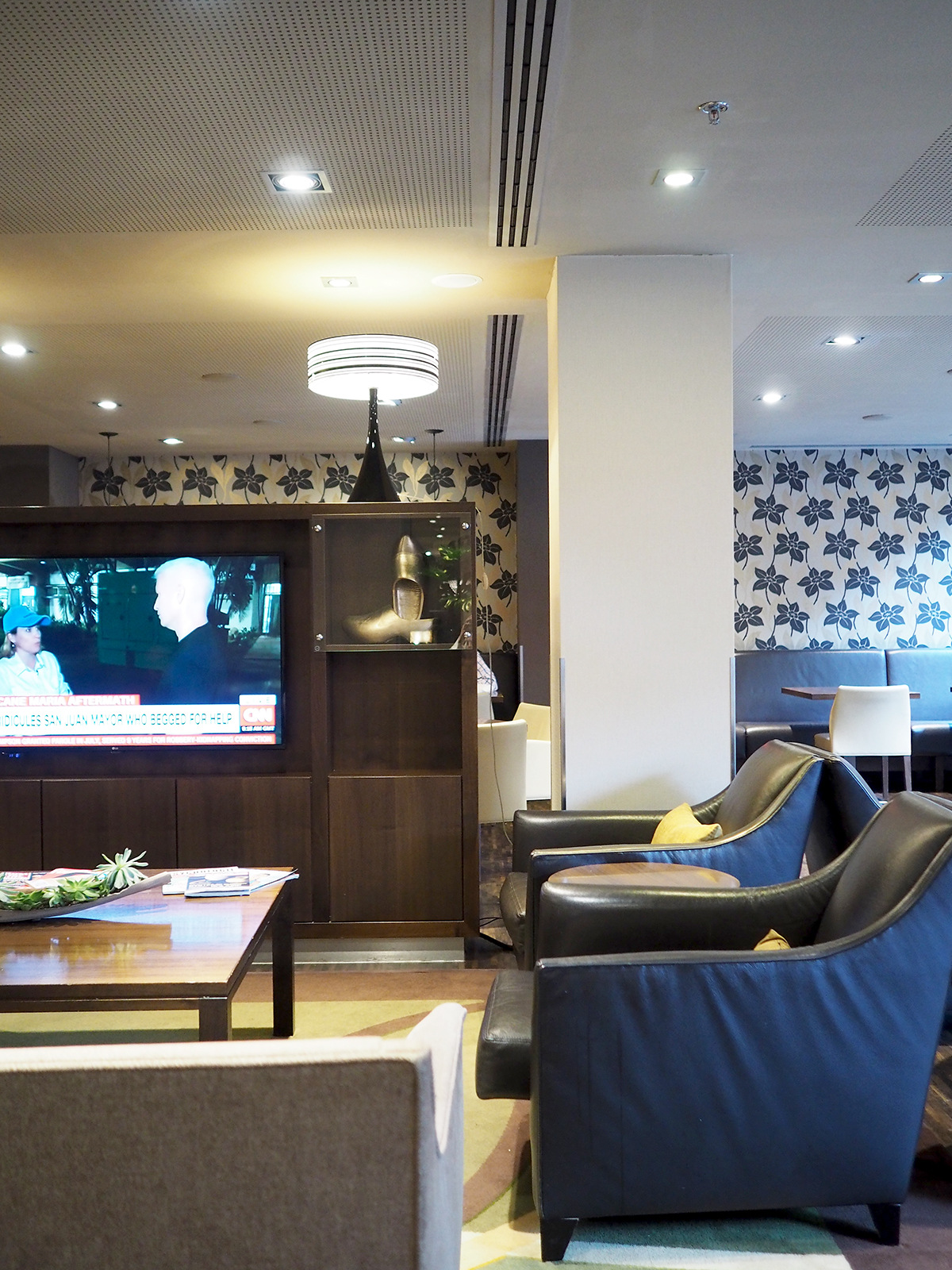 Amsterdam Marriott hotel executive lounge