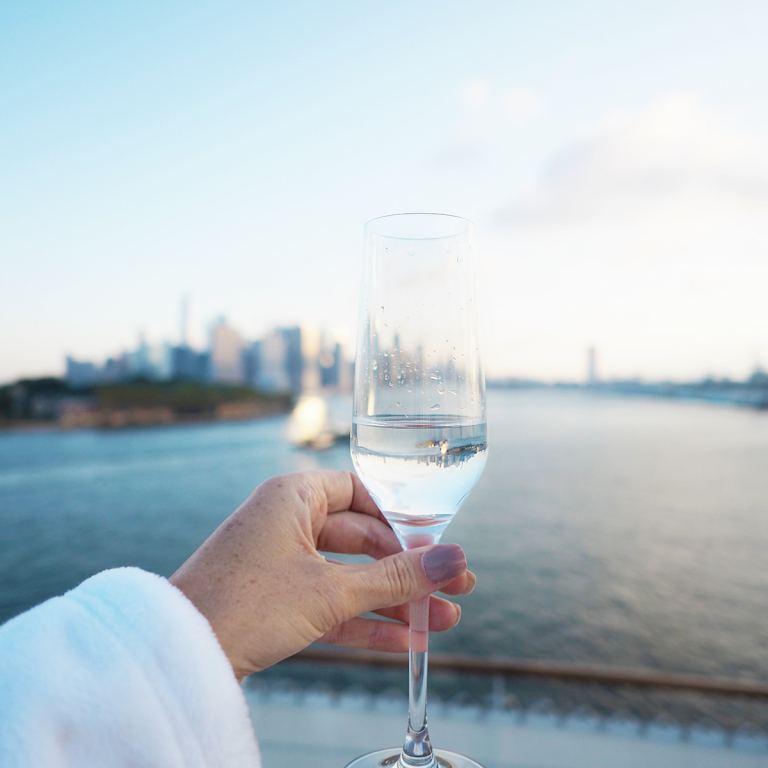 transatlantic cruise to new york