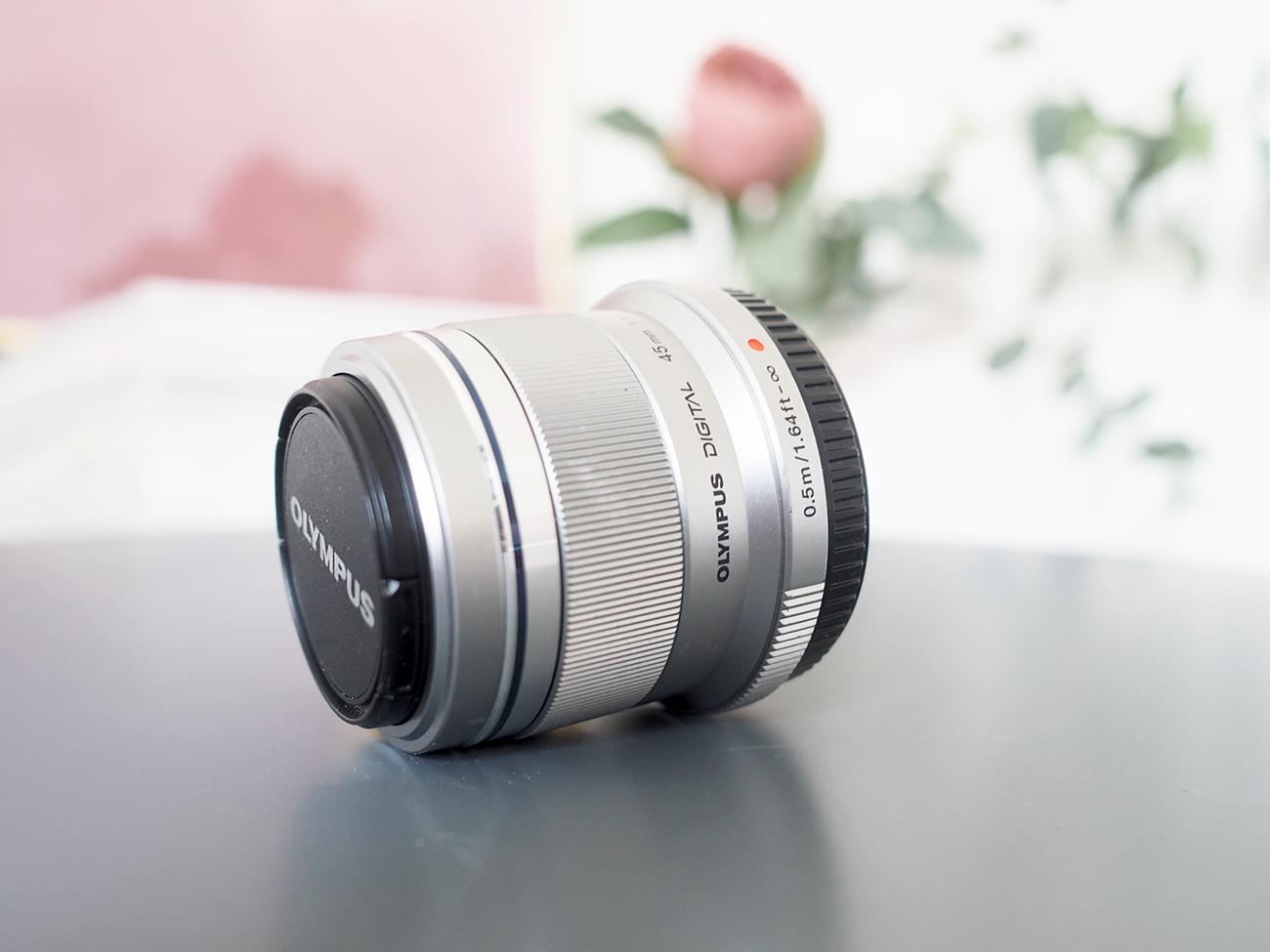 olympus pen 45mm lens review
