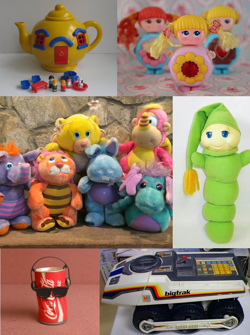 80's kids toys you remember