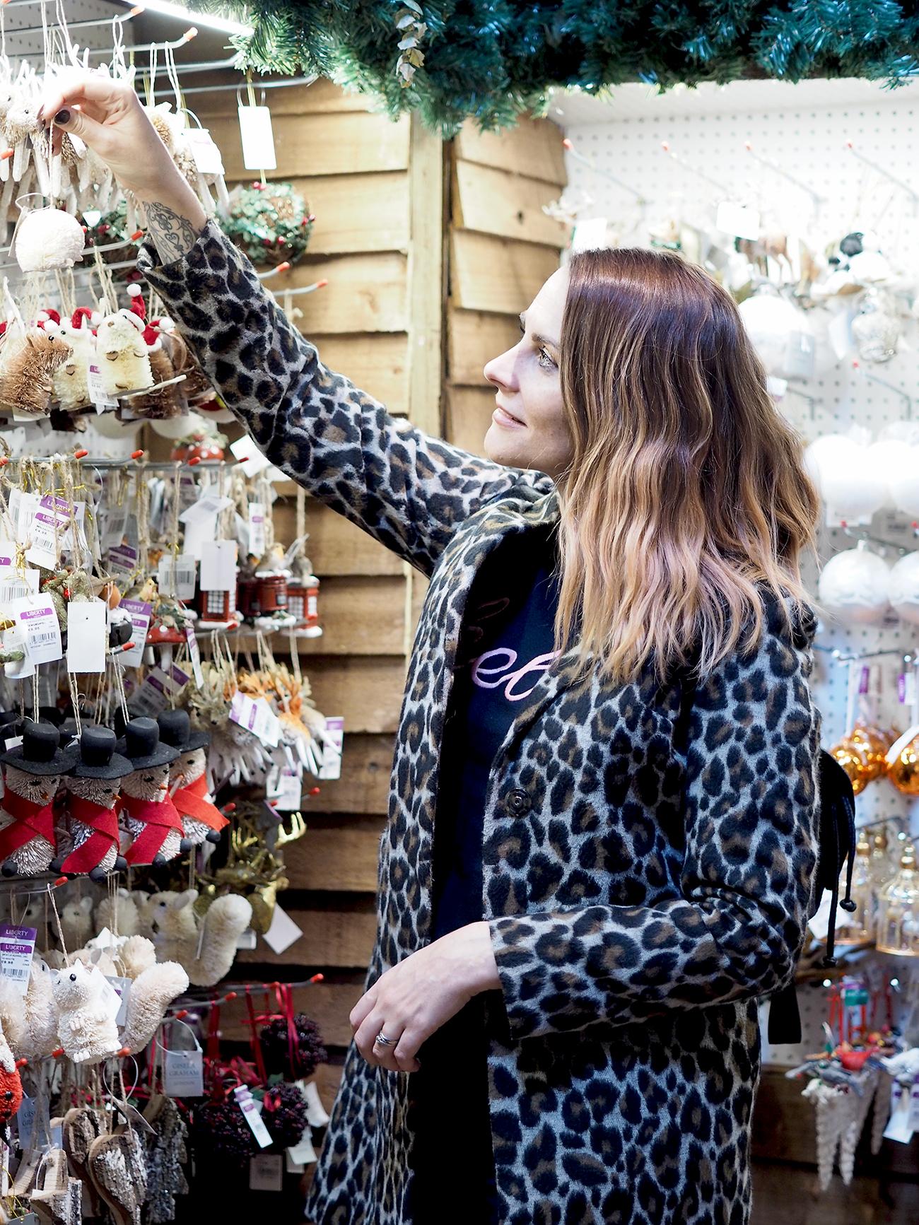 Liberty Of London Christmas shop