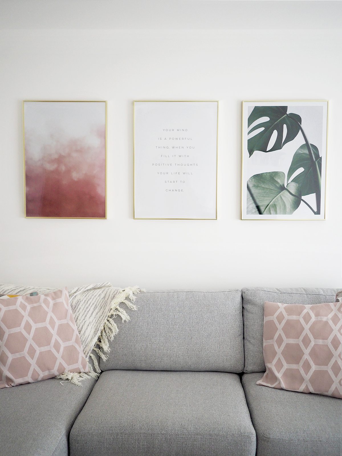 desenio wall prints living room