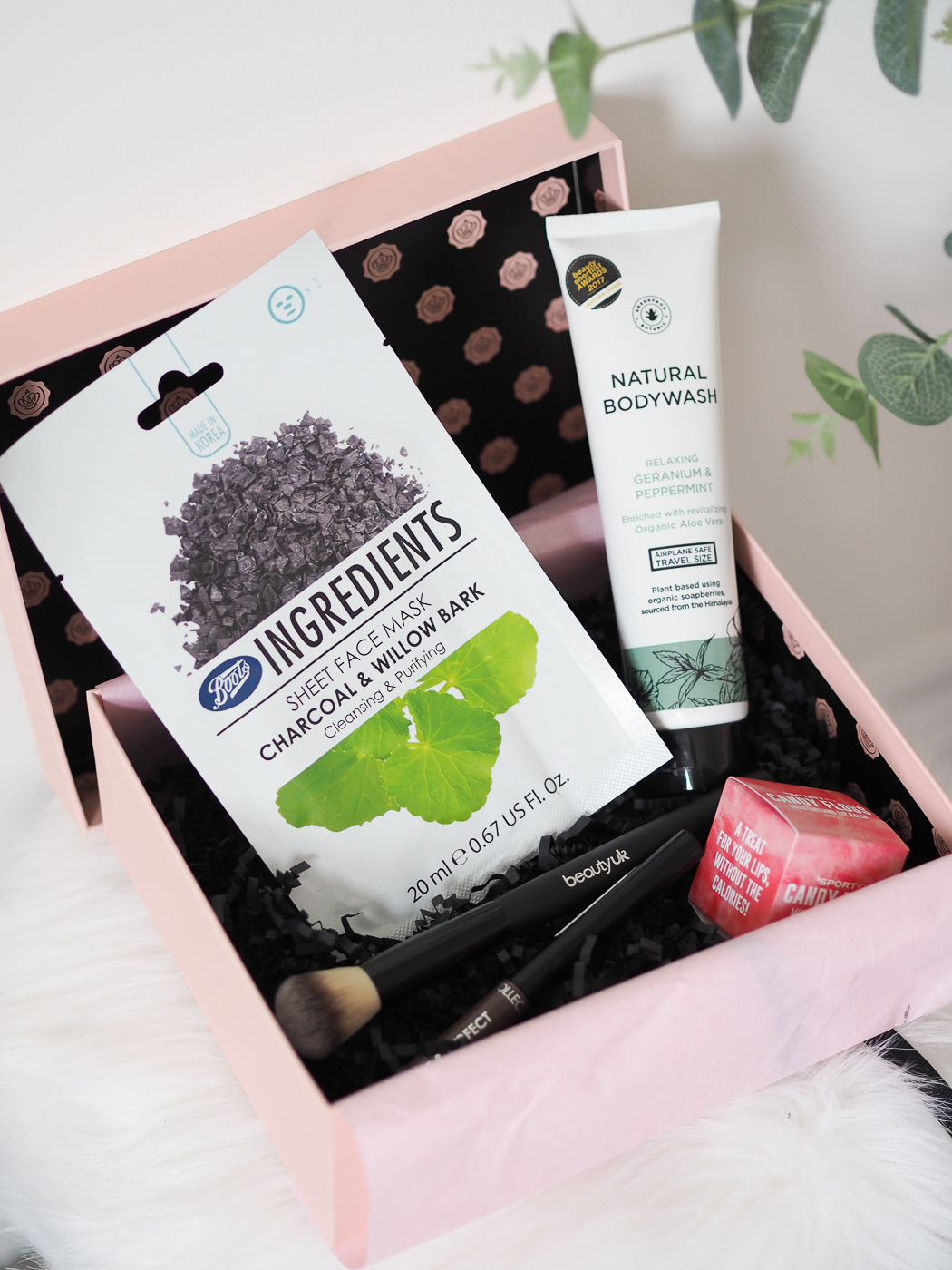 November Glossybox contents