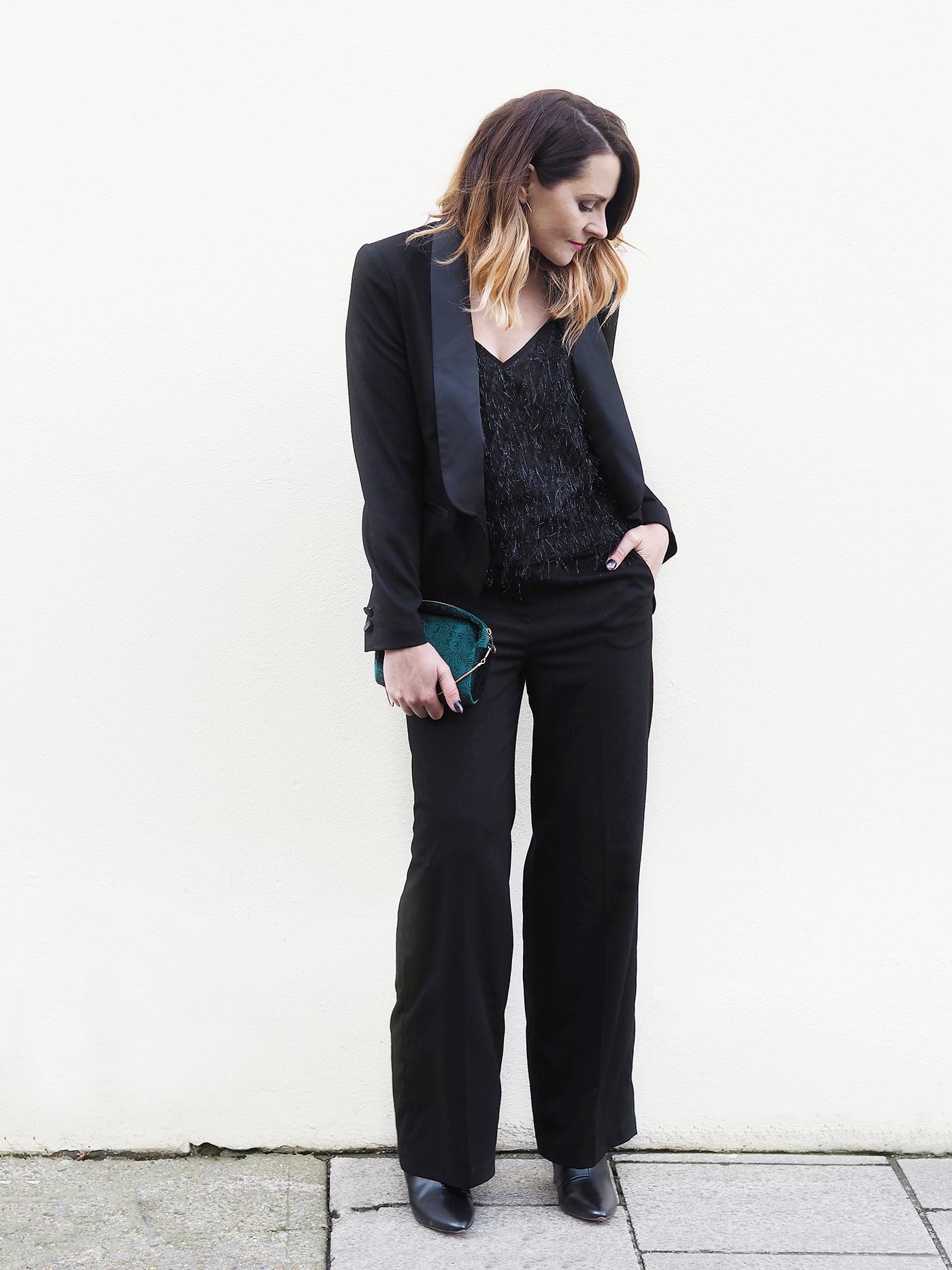 black tux suit next