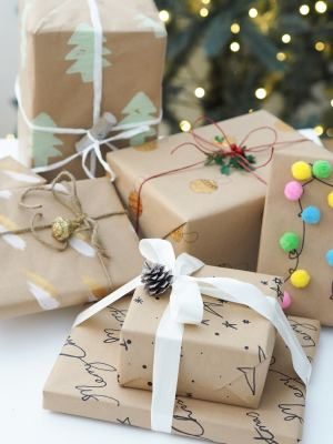 5 homemade wrapping paper ideas