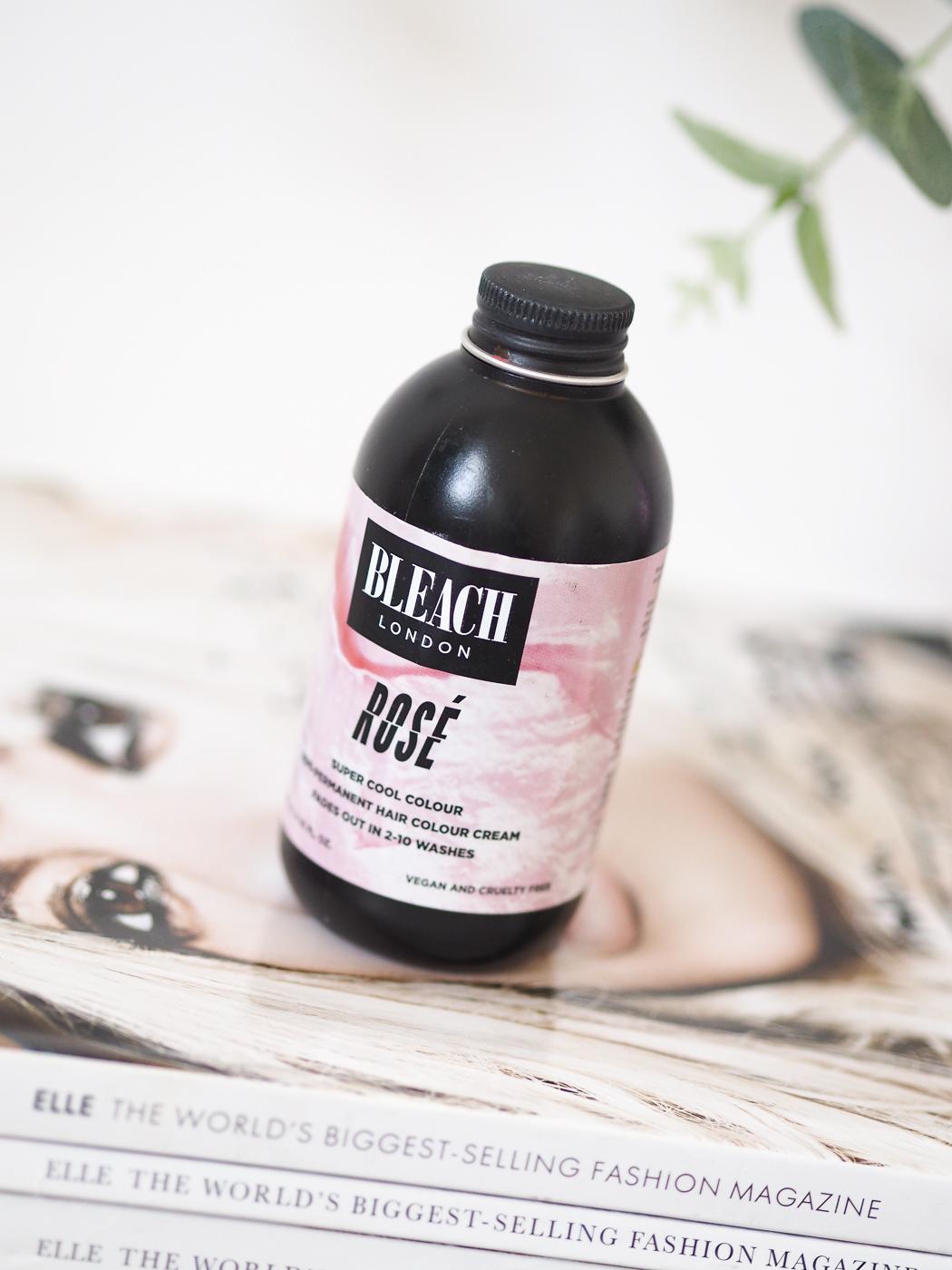 Bleach London Rose pink dye