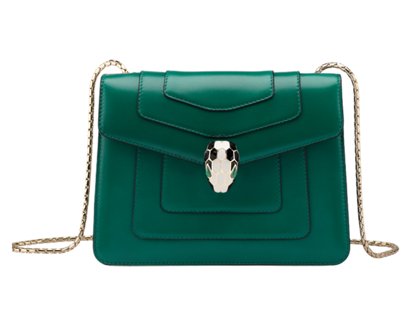 Bulgari Serpenti Bag green
