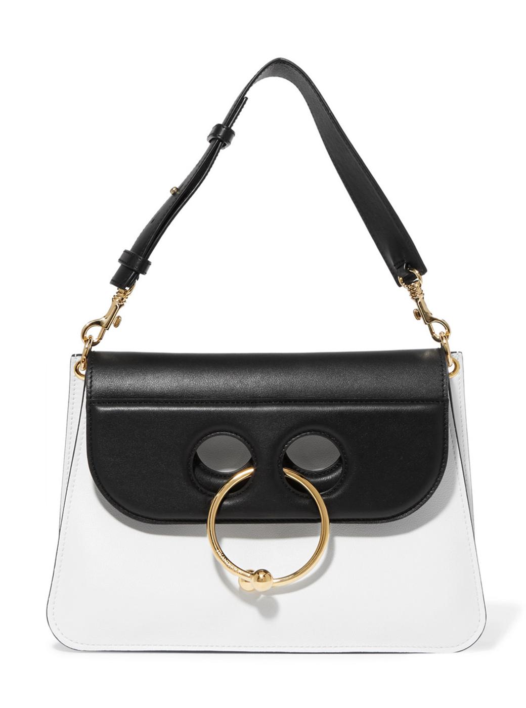 jw anderson pierce bag black and white