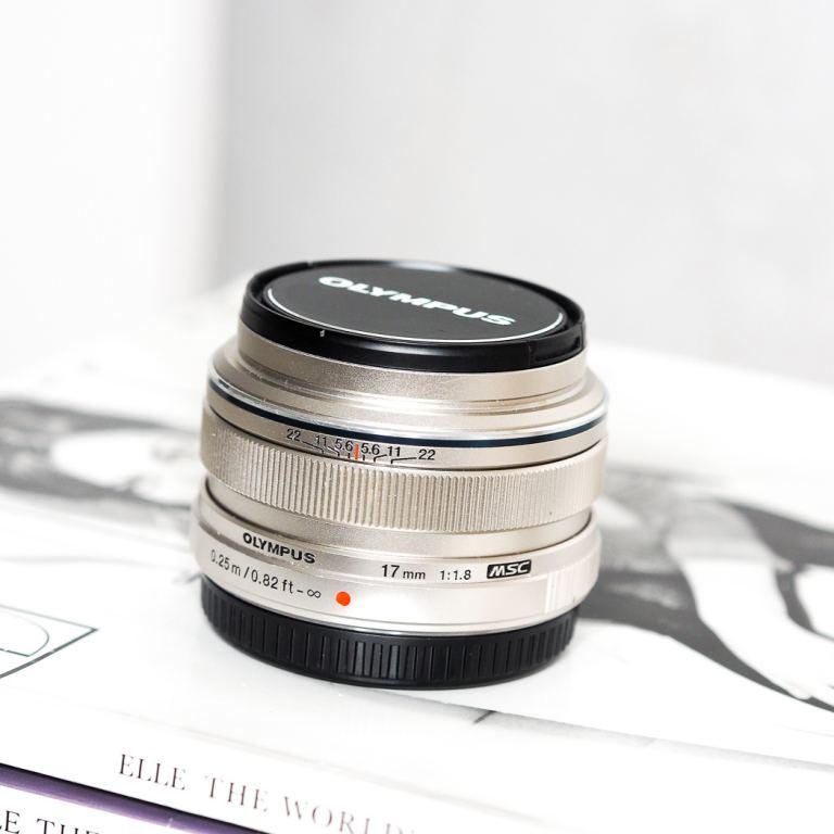 Olympus pen 17mm lens