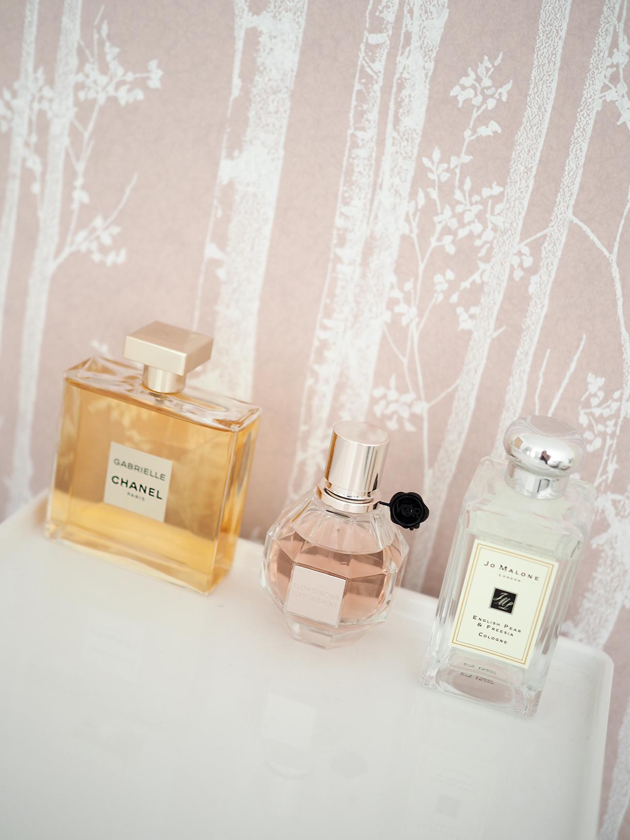 perfume bottles chanel gabrielle