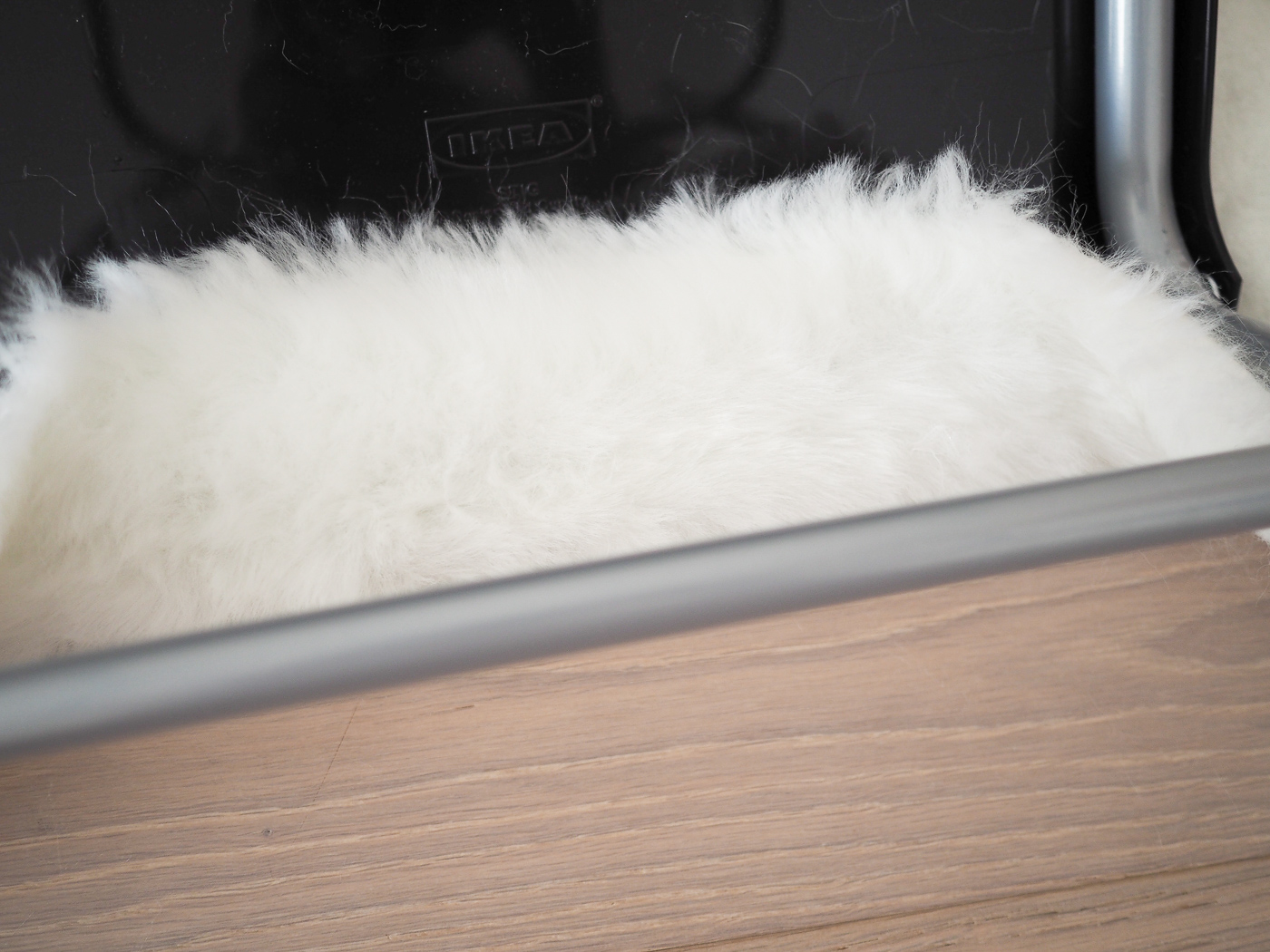 Diy Faux Fur Bar Stool Tutorial Ikea Hack Bang On Style