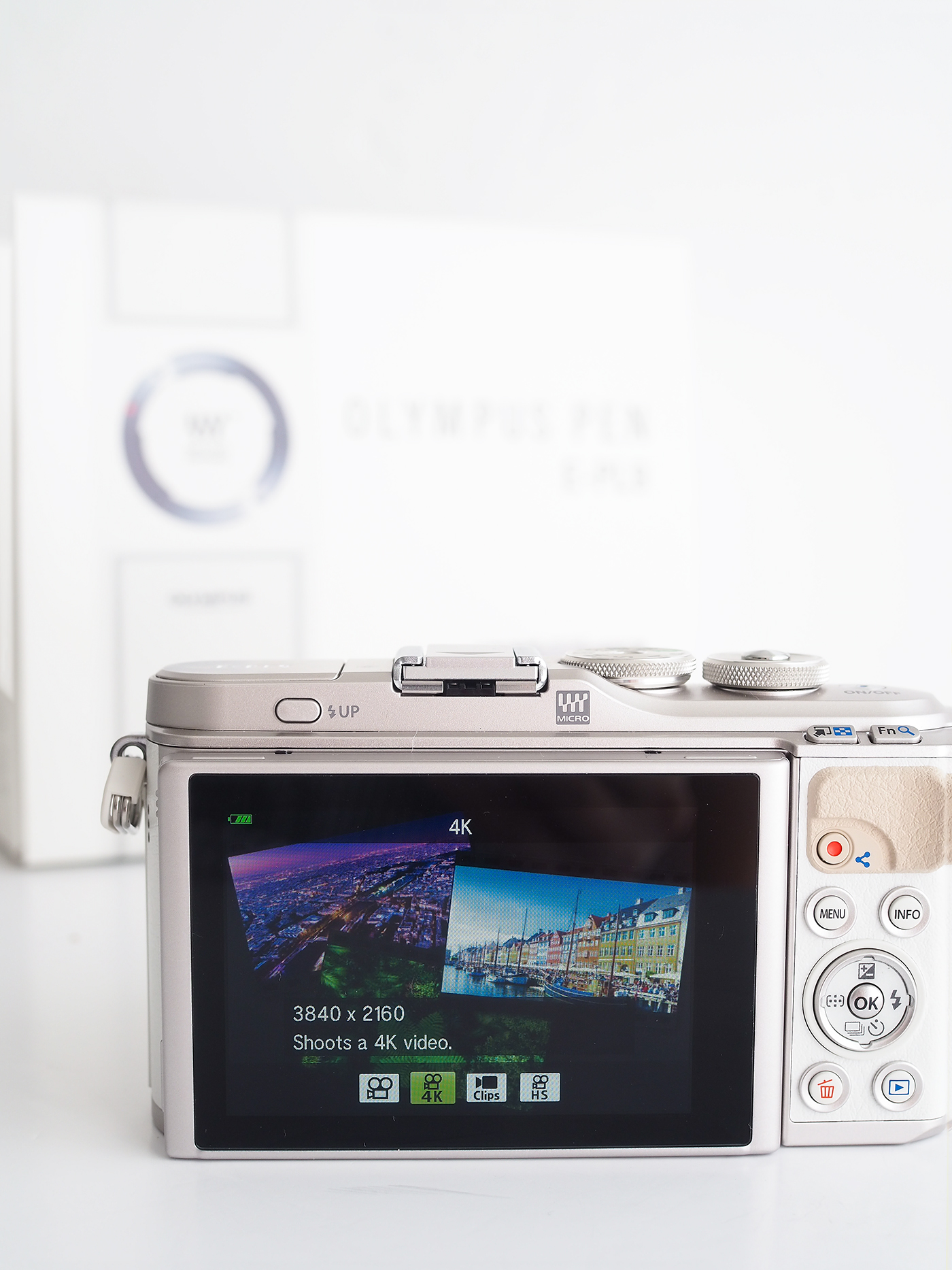Olympus Pen EPL9 Camera 4k video