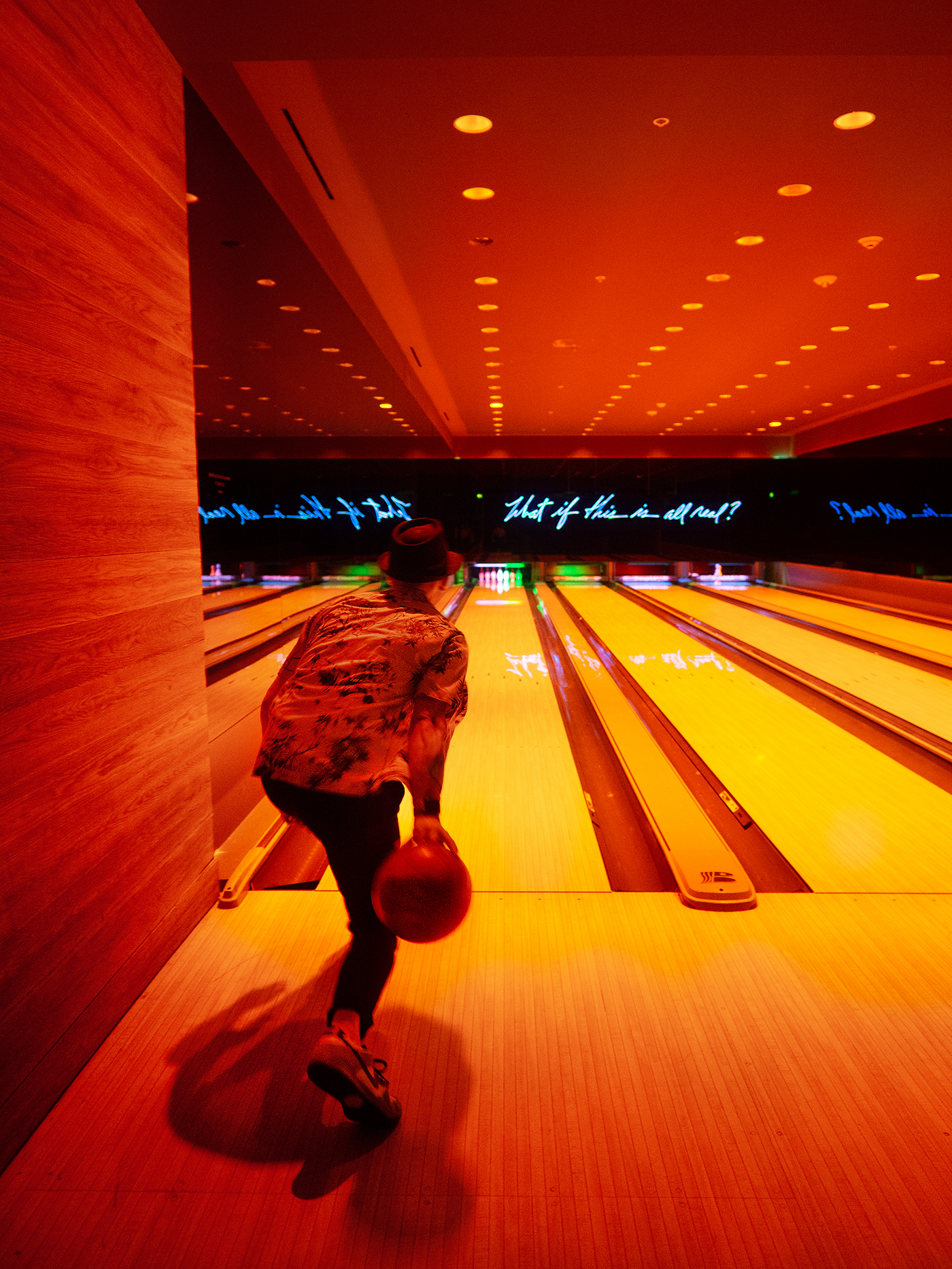 The Edition Hotel bowling alley miami
