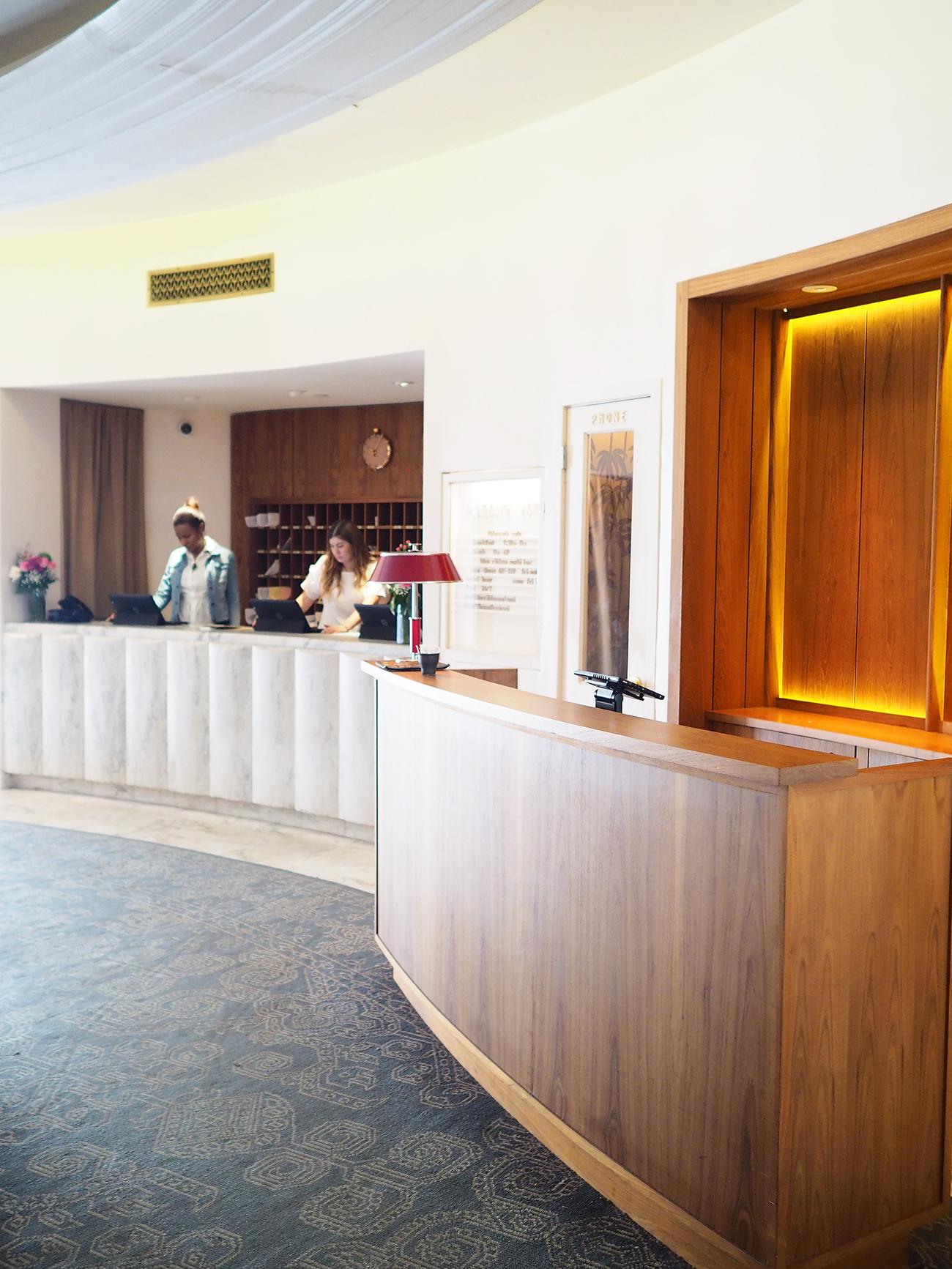 the Plymouth Hotel Miami interior