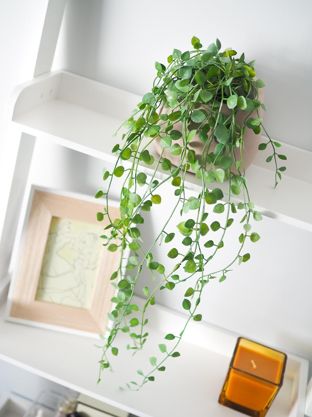 faux hanging plant matalan
