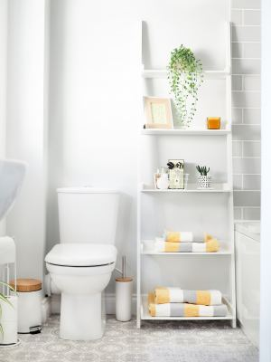 grey bathroom makeover after photo