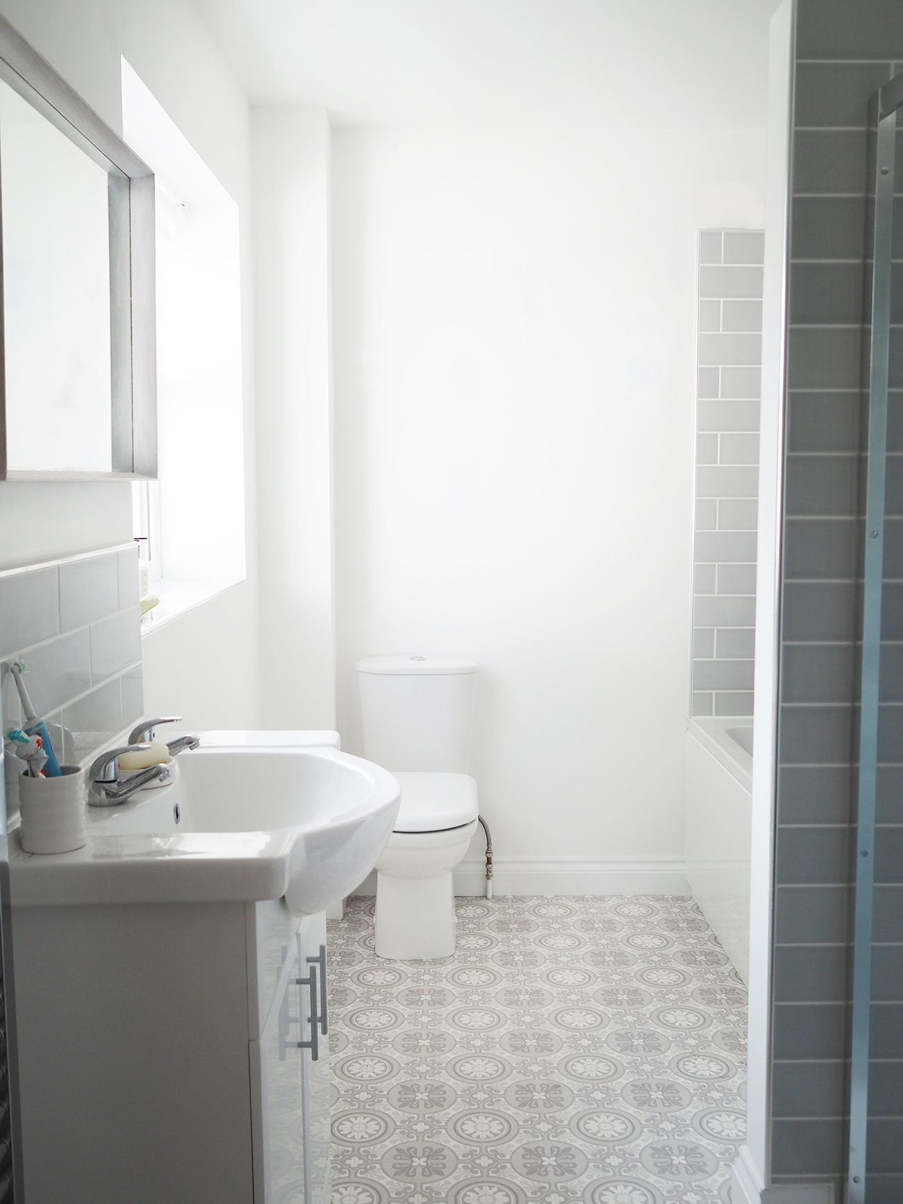 Grey And Yellow Bathroom Makeover Bang On Style