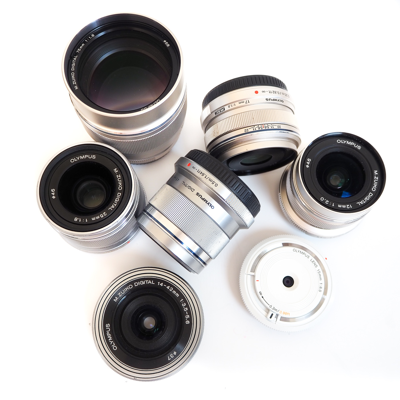 Olympus pen lenses
