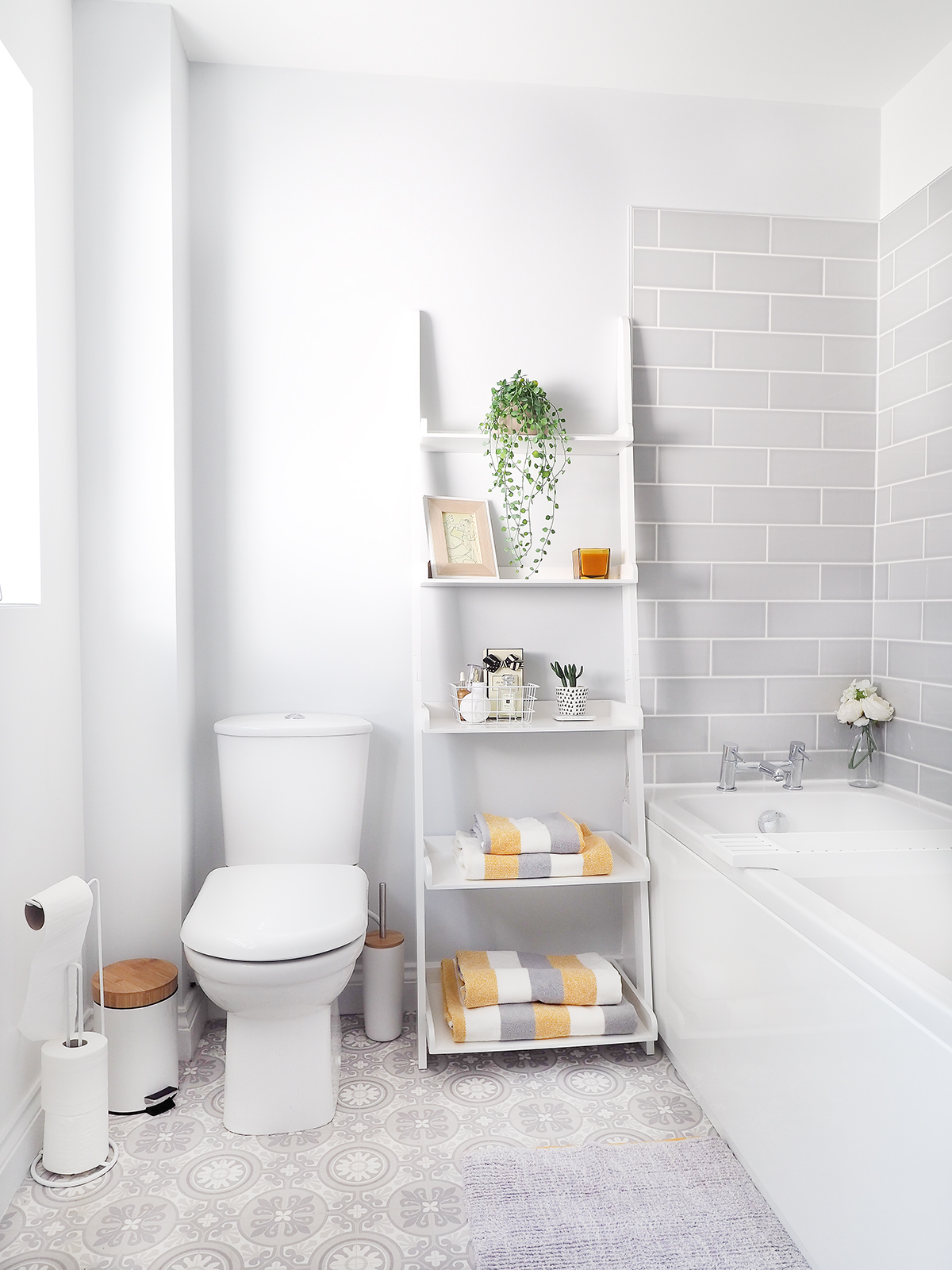grey bathroom makeover