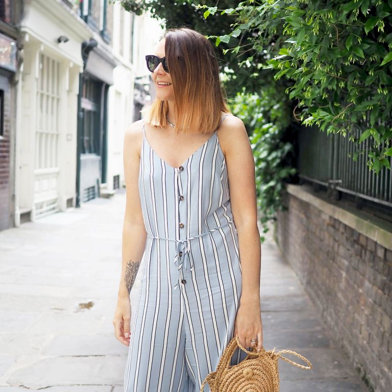 primark jumpsuit with trainers