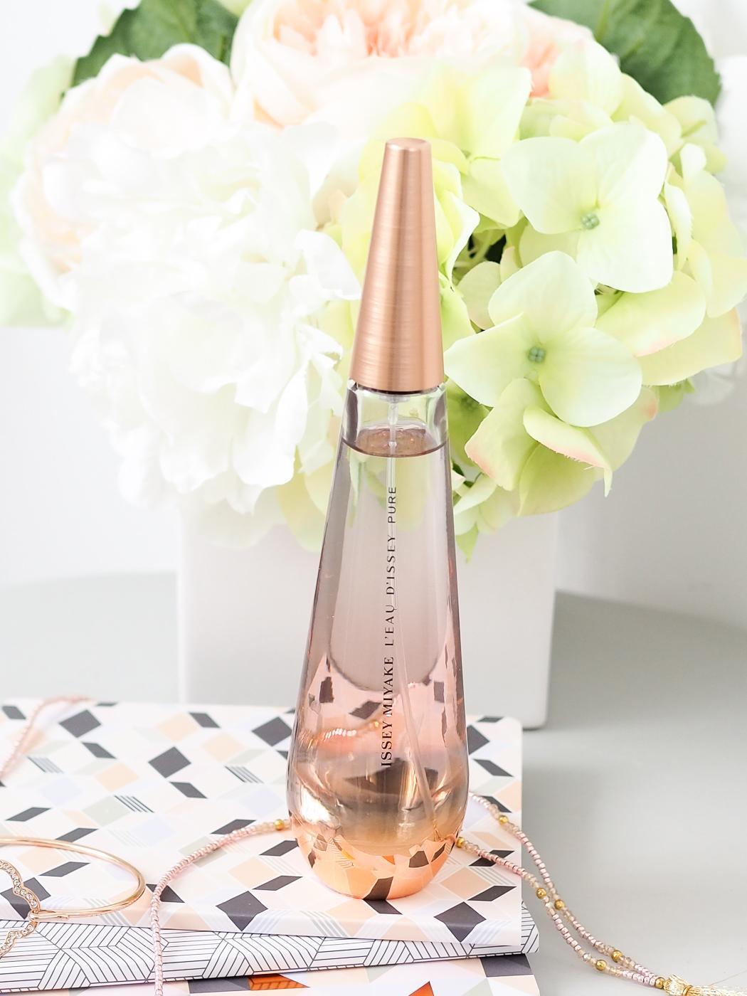 Issey Miyake perfume rose gold