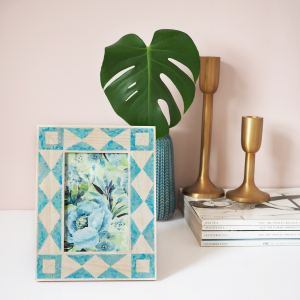 anthropologie frame diy post