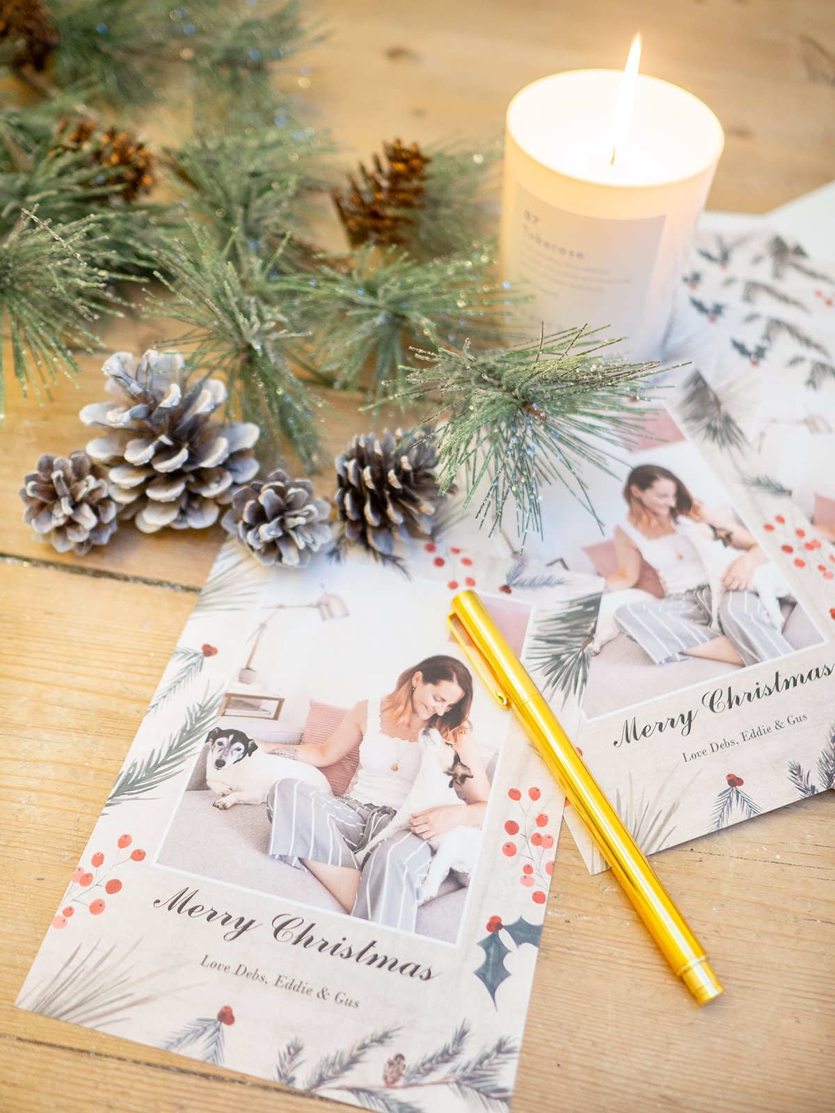 snapfish photo flat card christmas