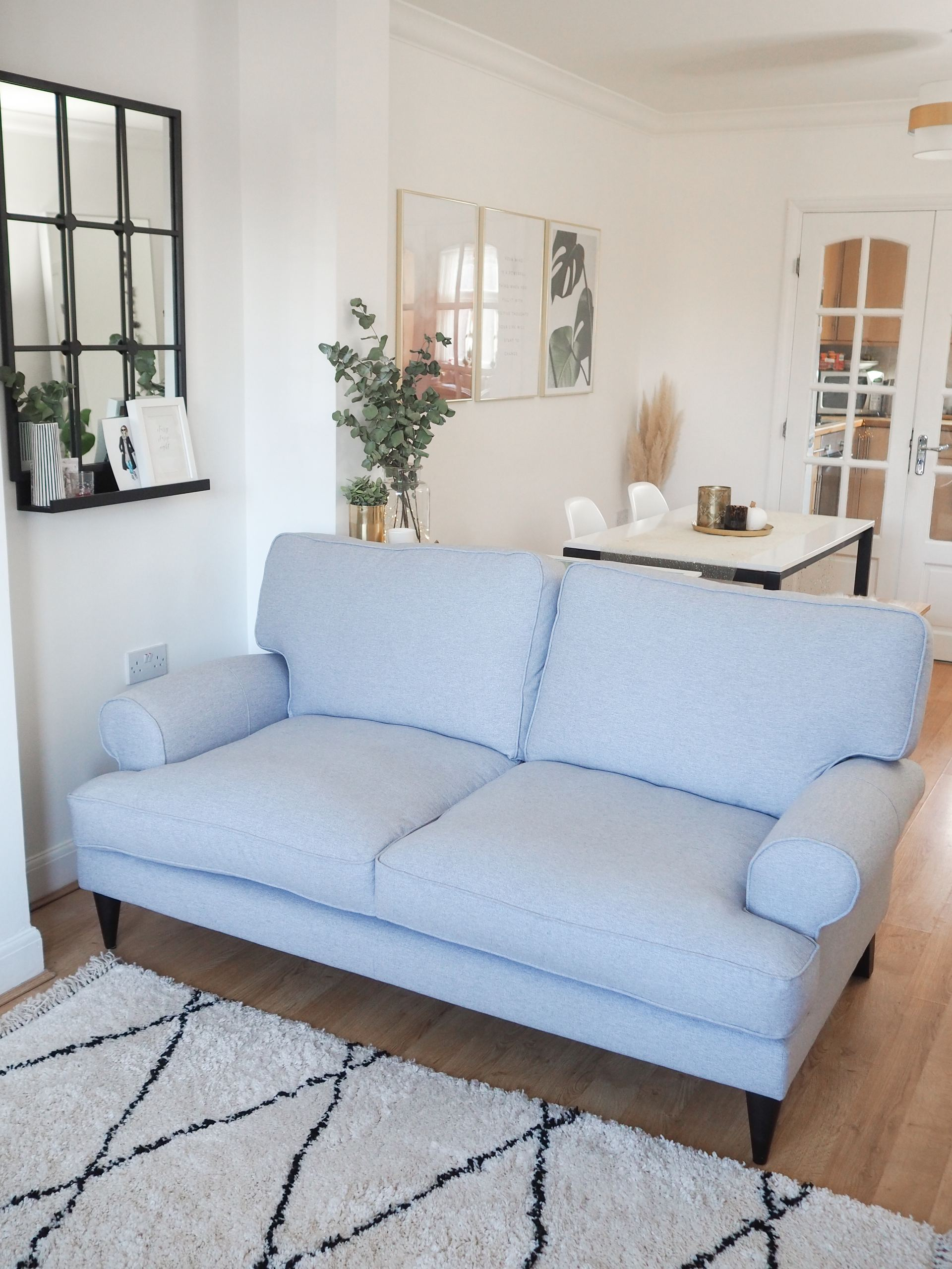 DFS SO SIMPLE Viv sofa in grey